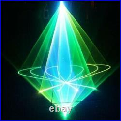 1000mW RGB Full Color Stage Laser Light Disco 256 pattern animation Lamp show 1W