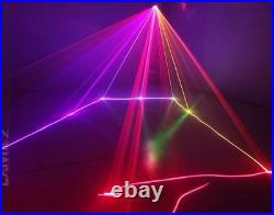 1050mW Red Green Blue Beam Laser Stage Lighting Home Birthday Party Decor light