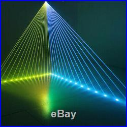 1W 1000mW RGB DMX Full Color 3D Animation Laser Light DJ Stage Effect Party Lamp