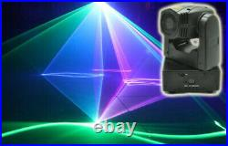 2W RGB Moving head laser light SD card animation stage light 2000mW Moving lamp