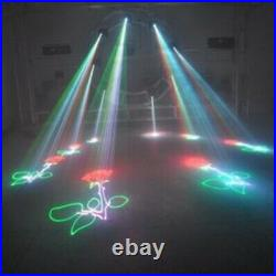 2W RGB Moving head laser light SD card animation stage light for DJ party 2000mw