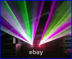 3000mW RGB ILDA stage Full Color animmation Laser Party 3W light projector 25k