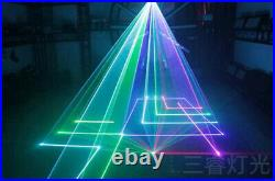 3W Full color RGB Stage Laser Light for DJ Home Party Disco Event Show wedding