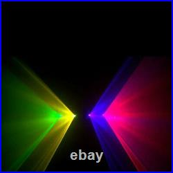 460mW 4 Lens 4 Beam Laser RGBY DJ Lights Stage Lighting Party Show DMX Projector
