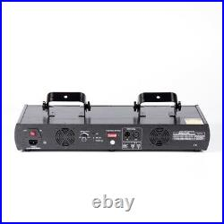 460mW 4 Lens 4 Beam RGBY Laser Light DMX DJ Bar Party Show Disco Stage Projector