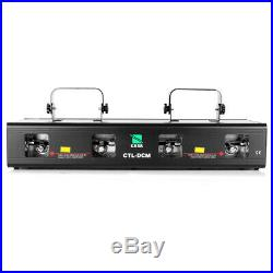 4Beam Red Green Yellow Purple Laser Light DMX Stage DJ Bar Party Show Club 460mW