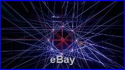 4W RGB Full Color Stage Animation Laser Diodes Light Wide Beam ILDA DMX DJ Party