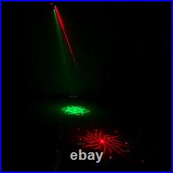 4 Eyes Gobo RG Laser Lighting & RGBW LED Disco Ball Projector Stage DJ Show Lamp