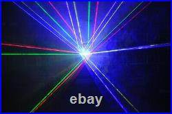 4 Eyes RGBY 450mW Laser Arrow Light for DJ Stage Effect Event Show Laser