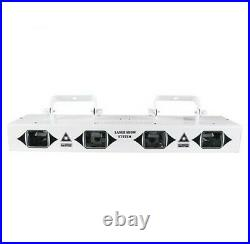 4 Heads DMX RGB Fullcolor Laser Beam Scan DJ Disco Stage Light home party Effect