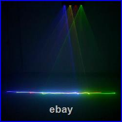 4 Lens RGBY DMX 9 CH Laser Projector Lights Party DJ KTV Club Stage Lighting TOP