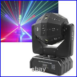 4 in 1 RGBW LED Laser Stage Light Moving Head Lamp DJ Disco KTV Party Lighting