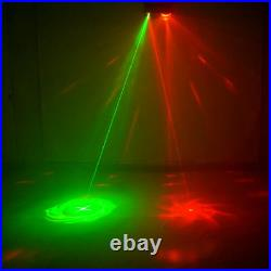 4 in 1 RG Laser Mixed RGBW LED Effect DJ Party Home Strobe Lamp Stage Lighting