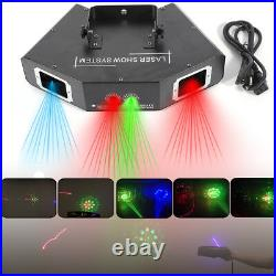 500mW 4 Lens Red Green Blue DJ Party Stage Show Laser Light Club Party Lighting