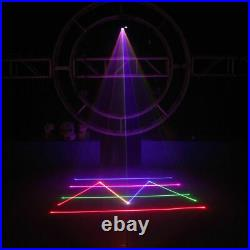 500mW RGB Animation Laser Projector Light DMX SD Card DJ Home Party Stage Light