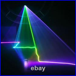 500mW RGB Beam Projector DMX Colorful Sound Scan Laser Music Scanner Light Stage