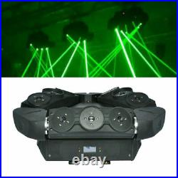 6/9Eyes Stage Moving Head Laser Bar Light RED Spider Projector DMX Beam DJ Party