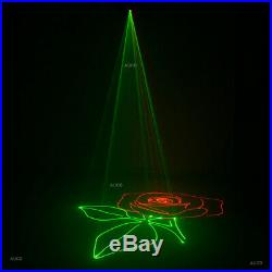 Beam DMX RGB SD Animation Scan Projector DJ Party Show Stage White Laser Lights