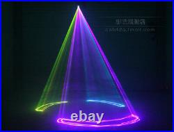 DMX 500mW full colour Laser Scan Stage Lighting Christmas Party Light Home Decor