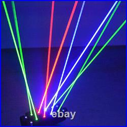 DMX Stage Moving Head Beam Scan Laser Light 8Eyes RGB Spider Projector USA