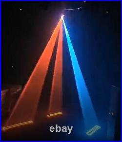 Full color 3W rgb stage Animated laser light 3d dmx laser projector with sd card