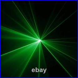 Mini Remote 50mW Green Laser Animation Scan Projector DJ Show Party Stage Lights