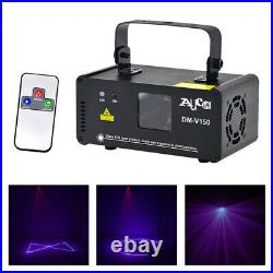 Mini Remote DMX Beam Scan Projector Purple Laser Home Party DJ Show Stage Lights