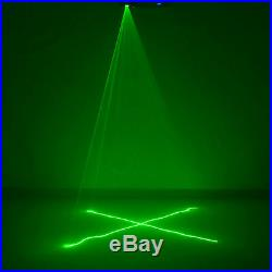Mini Remote Green Beam Scan DMX DJ Dance Party Show Projector Laser Stage Lights