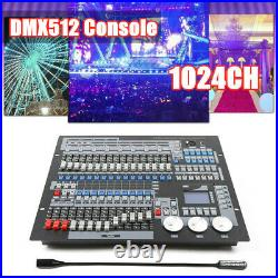 Moving Head Light 1024 CH DMX 512 Controller Console Stage DJ Lighting Laser