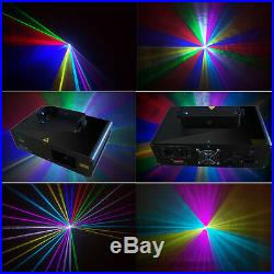 NEW 280mW RGB Party DMX disco dj stage laser Lighting show equipment projector
