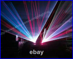 New 3000mW RGB ILDA stage Full Color Laser light projector 3W with DT30 Galvo