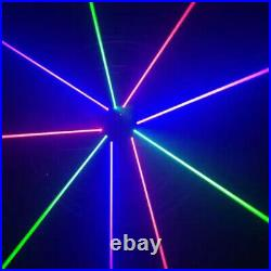 New 9 Eyes RGB Moving Spider Laser / Beam Light DMX DJ Band Bar Stage Lighting