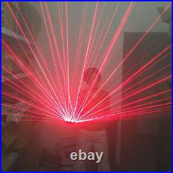 New LED Laser Glove DJ Stage Show Lighting Party Bar Lazer Beam With Palm Light