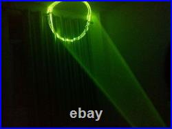 New Rotatable Laser Lighting Gloves DJ Dancer Stage Disco Party Show Glove Prop