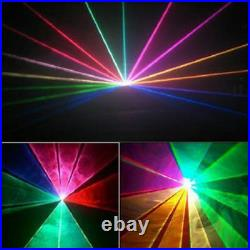 PRO Full Color Laser Light Stage Beam Show Projector DJ Party Home Yc. CL10RGB