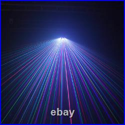Pro 3 Lens RGB Beam Line Laser Light DMX DJ Party Show Club Stage Lighting TOP