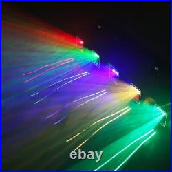 Projector 60W 5 Lens LED RGBYC Stage Lighting DMX Party Disco Lights Club Decor