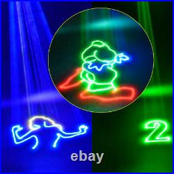 RGB 1000mW Full Color animation Laser Light DJ Xmas party Logo stage Show Effect