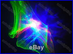 RGB Color Aurora LED Laser Stage Lighting Projector Romantic X'mas effects Light