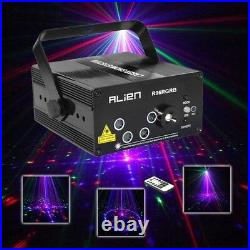 RGB Mini Laser Projector Light DJ Disco Party Music Laser Stage Color Lighting