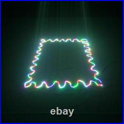 RGB SD Card Animation Scan Laser Projector 500mW DMX DJ Party Stage Lights