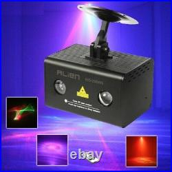 RG Aurora Laser Projector Stage Lighting Effect RGB LED Water Wave Party Lights