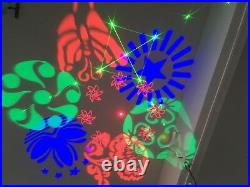 R&G LASER with LED Gobo effect light for stage party show event club dj