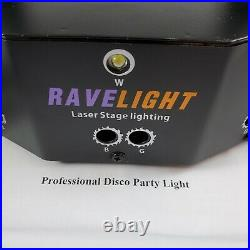 Ravelight Laser Stage Lighting 9 eyes RGB Rave Disco Party Remote Control
