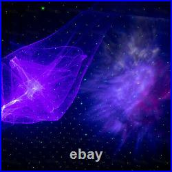 Rechargeable RGB Aurora Star Nebula LED Laser Starry Sky Projector Stage Lights