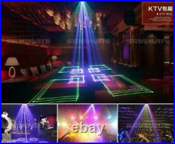 Remote DMX Full Color 3D Animation RGB 500mW Effect Laser Beam DJ Stage Light