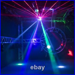 SHEHDS 16X3W RGBW Laser LED for DJ disco party stage ball Moving Head Lights