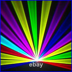 SHINP RGB Full Color Laser Light Stage Beam Show Projector DJ Party Home CL10RGB