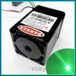 TTL 520nm 1000mW Green Laser Module/12V/For LAB Light/Stage Light with PSU